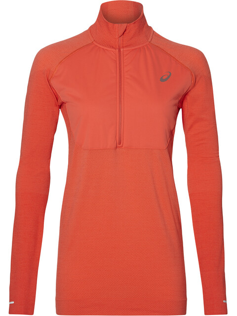 asics System LS Layer 2 - T-shirt manches longues running Femme - rouge